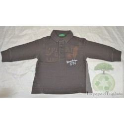 Benetton Polo ML 12 mois-80cm