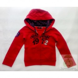 Catimini sweat avec capuche 1972 Athletic Dept 5 ans-110cm